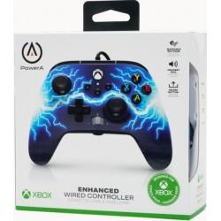 MANETTE XBOX SERIES LIGHTNING FILAIRE POWER A - Accessoires Xbox Series au prix de 39,95€