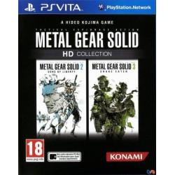 PSV METAL GEAR SOLID HD COLLECTION - Jeux PS Vita au prix de 19,95€