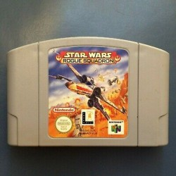 N64 STAR WARS ROGUE SQUADRON (LOOSE) - Jeux Nintendo 64 au prix de 14,95€