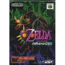N64 THE LEGEND OF ZELDA MAJORA S MASK MEMORY PACK (IMPORT JAP) - Jeux Nintendo 64 au prix de 69,95€