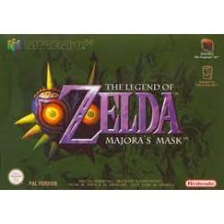 N64 THE LEGEND OF ZELDA MAJORA S MASK - Jeux Nintendo 64 au prix de 199,95€
