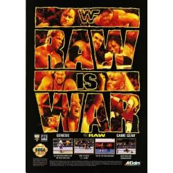 GG WWF RAW - Game Gear au prix de 2,95€