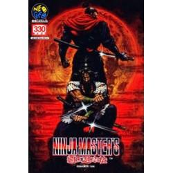 NG NINJA MASTER - Jeux Neo-Geo au prix de 599,95€