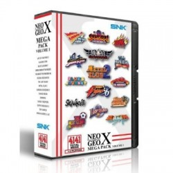 NG NEO GEO X MEGA PACK VOLUME 1 - Jeux Neo-Geo au prix de 49,95€