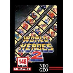 NG WORLD HEROES 2 MVS - Jeux Neo-Geo au prix de 24,95€