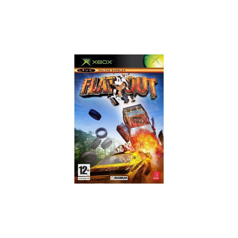 XB FLAT OUT - Jeux Xbox au prix de 7,95€