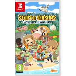 SWITCH STORY OF SEASONS PIONEERS OF OLIVE TOWN OCC - Jeux Switch au prix de 34,95€