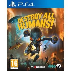 PS4 DESTROY ALL HUMANS OCC - Jeux PS4 au prix de 14,95€