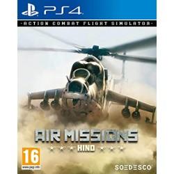 PS4 AIR MISSIONS HIND OCC - Jeux PS4 au prix de 19,95€