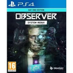 PS4 OBSERVER SYSTEM REDUX DAY ONE EDITION OCC - Jeux PS4 au prix de 19,95€