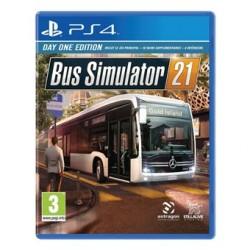 PS4 BUS SIMULATOR 21 OCC - Jeux PS4 au prix de 19,95€
