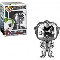 POP BATMAN ARKHAM ASYLYM THE JOKER CHROME SYLVER SPECIAL EDITION - Figurines POP au prix de 24,95€