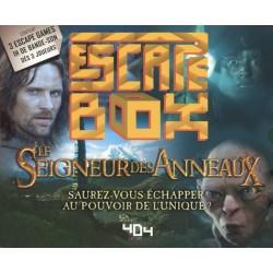 ESCAPE BOX LE SEIGNEUR DES ANNEAUX - Jeux de Société au prix de 19,95€