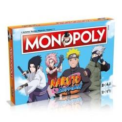 MONOPOLY NARUTO SHIPPUDEN - Jeux de Société au prix de 39,95€