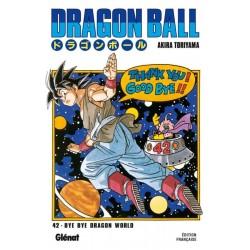 DRAGON BALL T42 BYE BYE DRAGON WORLD - Manga au prix de 6,90€