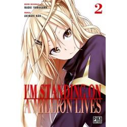 I M STANDING ON A MILLION LIVES T02 - Manga au prix de 7,20€