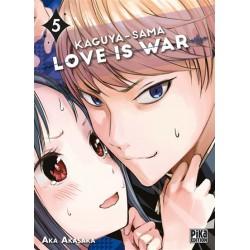 KAGUYA SAMA LOVE IS WAR T05 - Manga au prix de 7,20€