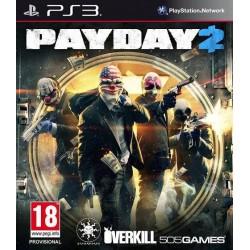 PS3 PAYDAY 2 - Jeux PS3 au prix de 9,95€