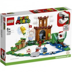LEGO MARIO 71362 FORTERESSE PLANTE PIRANHA - Puzzles & Jouets au prix de 44,95€
