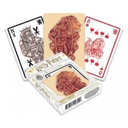 JEU DE CARTES HARRY POTTER GRYFFONDOR - Cartes à collectionner ou jouer au prix de 6,95€