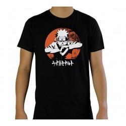 T SHIRT NARUTO SHIPPUDEN NARUTO TAILLE L - Textile au prix de 19,95€