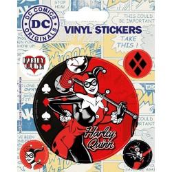 STICKERS VINYLE DC COMICS HARLEY QUINN - Autres Goodies au prix de 2,95€