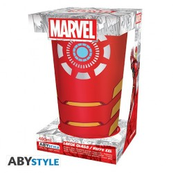 VERRE XXL MARVEL IRON MAN 400ML - Mugs au prix de 9,95€