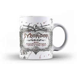 MUG SEIGNEUR DES ANNEAUX MORDOR MAP 315ML - Mugs au prix de 12,95€