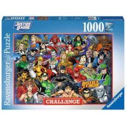 PUZZLE JUSTICE LEAGUE 1000 PIECES - Puzzles & Jouets au prix de 14,95€