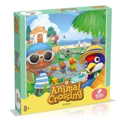 PUZZLE ANIMAL CROSSING 500 PIECES - Puzzles & Jouets au prix de 19,95€