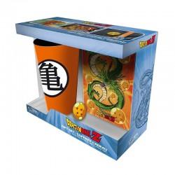 COFFRET CADEAU DRAGON BALL Z VERRE 400ML PINS CARNET A6 - Autres Goodies au prix de 19,95€