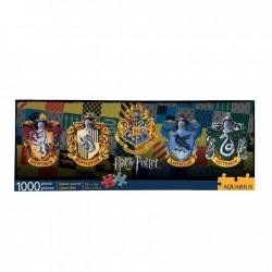 PUZZLE HARRY POTTER SLIM BLASONS 1000 PIECES - Puzzles & Jouets au prix de 14,95€
