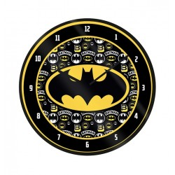 HORLOGE BATMAN LOGO 25CM - Autres Goodies au prix de 12,95€