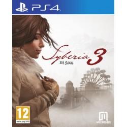 PS4 SYBERIA 3 (NEUF) - Jeux PS4 au prix de 9,95€