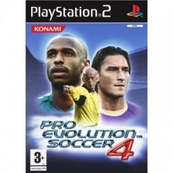 PS2 PRO EVOLUTION SOCCER 4 - Jeux PS2 au prix de 0,95€