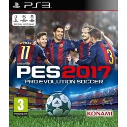 PS3 PES 2017 - Jeux PS3 au prix de 7,95€