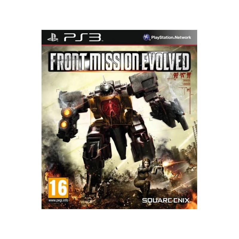 PS3 FRONT MISSION EVOLVED - Jeux PS3 au prix de 6,95€