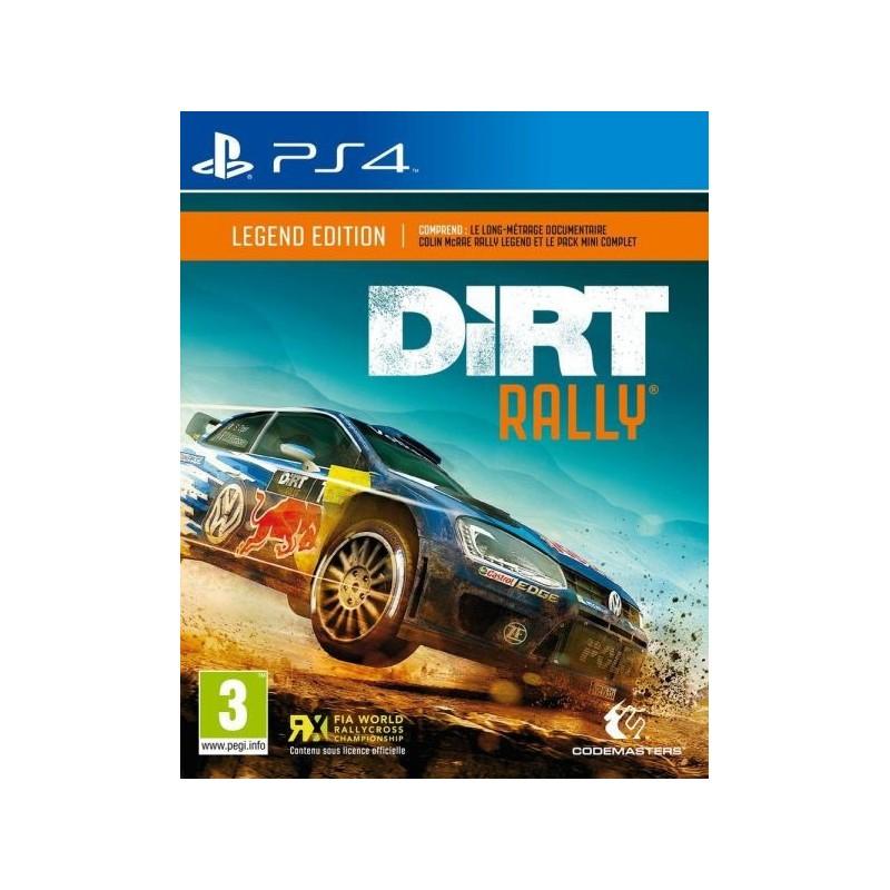 PS4 DIRT RALLY EDITION LEGEND OCC - Jeux PS4 au prix de 24,95€