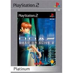 PS2 DEAD OR ALIVE 2 PLAT - Jeux PS2 au prix de 4,95€
