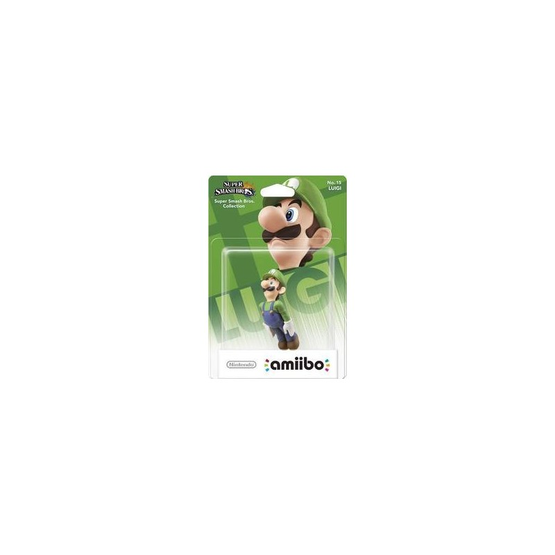 AMIIBO LUIGI NO 15 - Figurines NFC au prix de 19,95€
