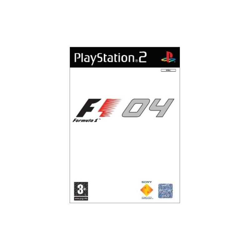 PS2 FORMULA ONE 2004 - Jeux PS2 au prix de 4,95€