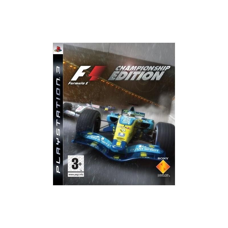 PS3 FORMULA ONE - Jeux PS3 au prix de 4,95€