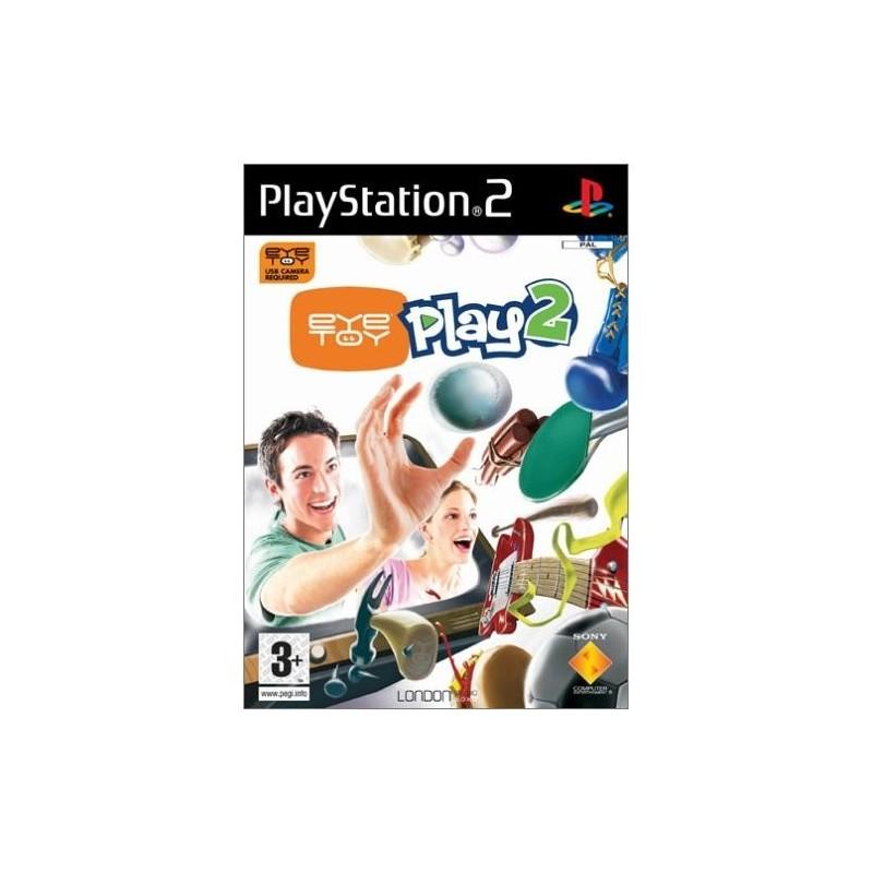 PS2 EYE TOY PLAY 2 - Jeux PS2 au prix de 3,95€