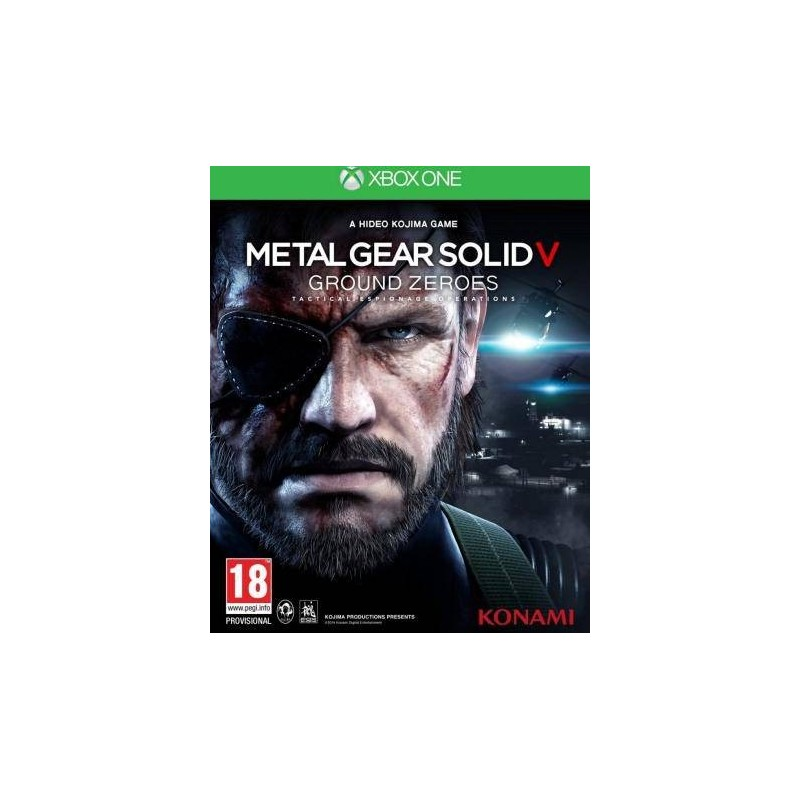 XONE METAL GEAR GROUND ZEROES OCC - Jeux Xbox One au prix de 4,95 €