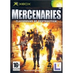 XB MERCENARIES PLAYGROUND OF DESTRUCTION - Jeux Xbox au prix de 4,95 €