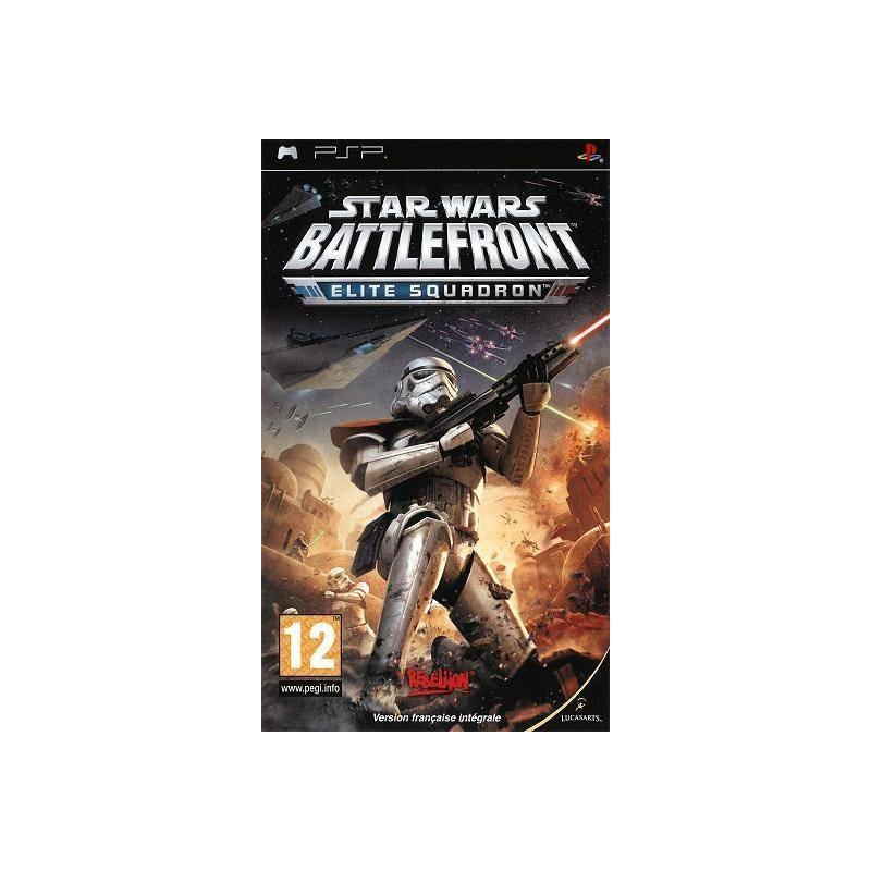 PSP STAR WARS BATTLEFRONT ELITE SQUADRON - Jeux PSP au prix de 4,95€