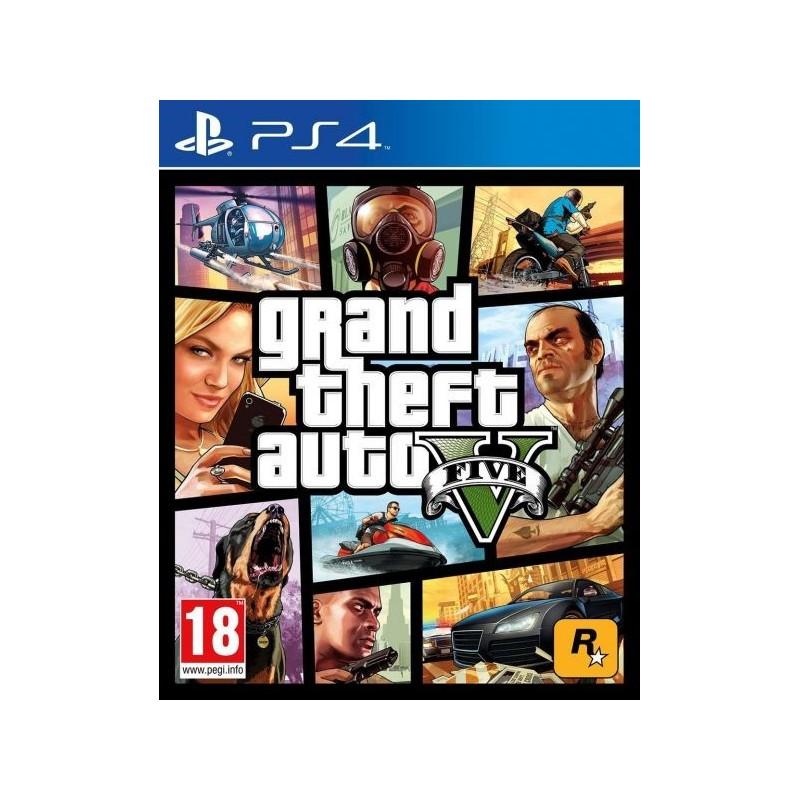 PS4 GTA V - Jeux PS4 au prix de 29,95€