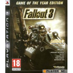 PS3 FALLOUT 3 GAME OF THE YEAR - Jeux PS3 au prix de 9,95 €