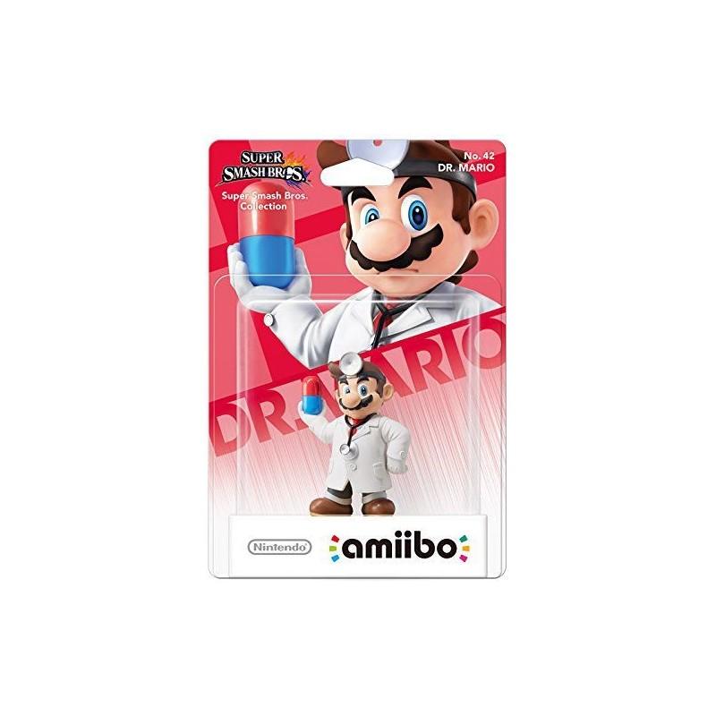 AMIIBO SUPER SMASH BROS 42 DR MARIO - Figurines NFC au prix de 14,95€