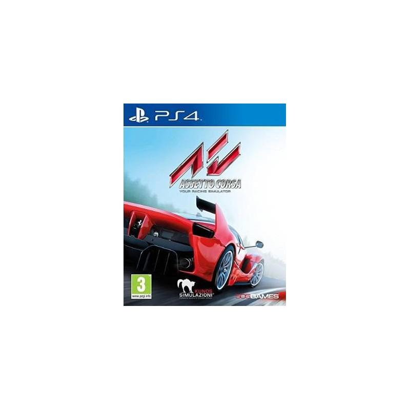 PS4 ASSETTO CORSA OCC - Jeux PS4 au prix de 14,95€